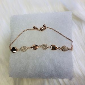 Jewelry - Rose 🥀 gold bracelet with crystals